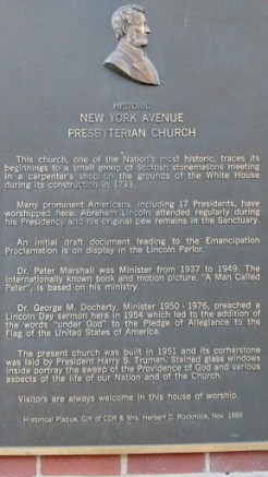 Church marker